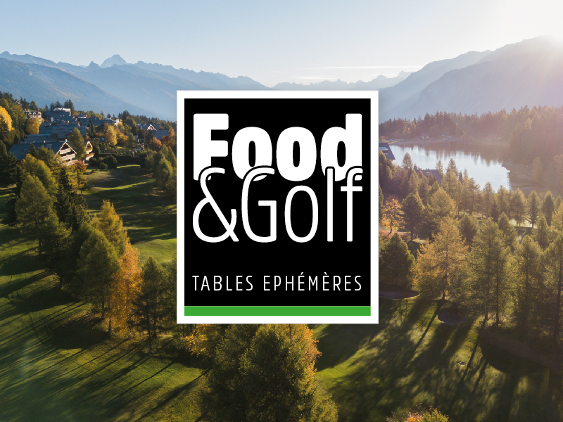 Tables Ephémères Food and golf
